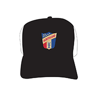 Badge Trucker Black